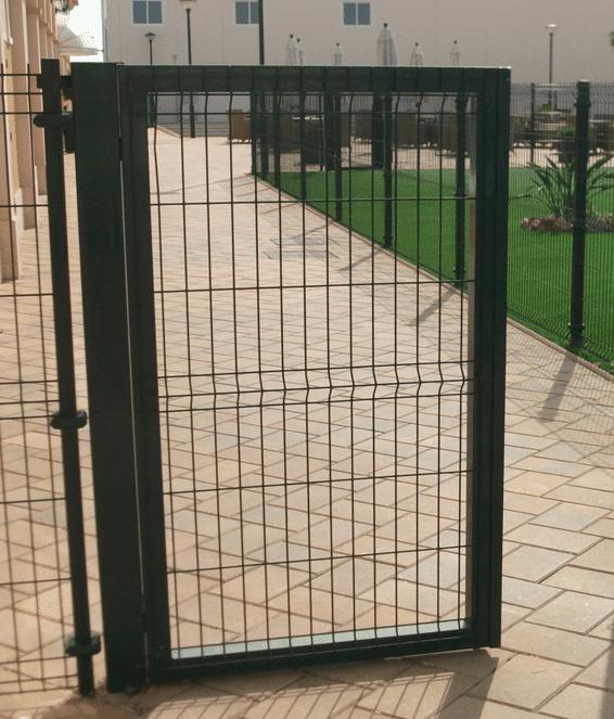 Vallas met licas vigo pontevedra malla metalica for Puertas galvanizadas